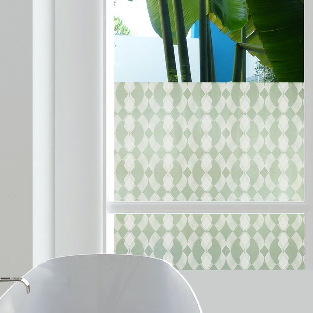 Venetian Privacy Window Film — For Home Window Tinting - StickPretty