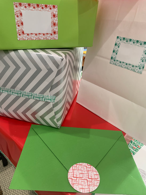 Holiday Stickies Baubles & Boxes