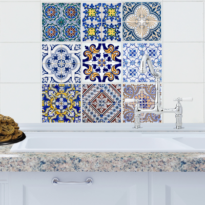 Moroccan Collection Tile Decals - StickPretty