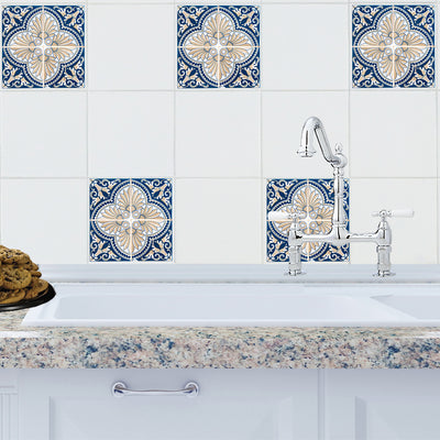Mosaic Marrakech Tile Decals - StickPretty