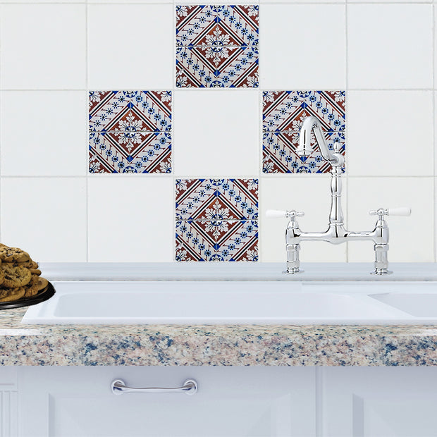 Mosaic Settat Tile Decals - StickPretty