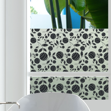 Spring Fling Privacy Window Film — For Home Window Tinting - StickPretty