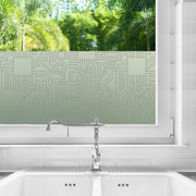 Short Circuit Privacy Window Film — For Home Window Tinting - StickPretty