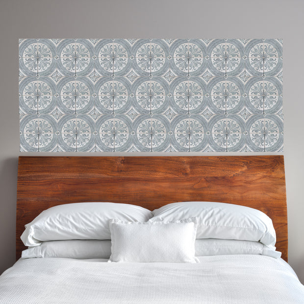 Delft Mosaic Panel Wall Decals - StickPretty