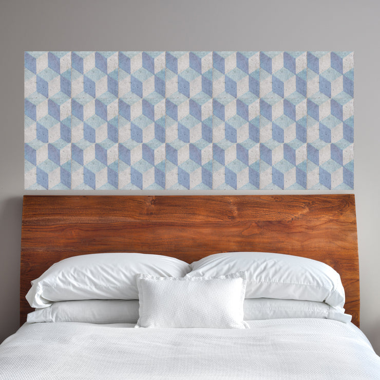 GeoBlocks Mosaic Panel Wall Decals - StickPretty