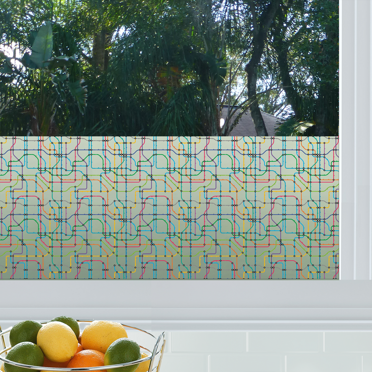 Transit Privacy Window Film — For Home Window Tinting - StickPretty