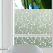 Vines Privacy Window Film — For Home Window Tinting - StickPretty