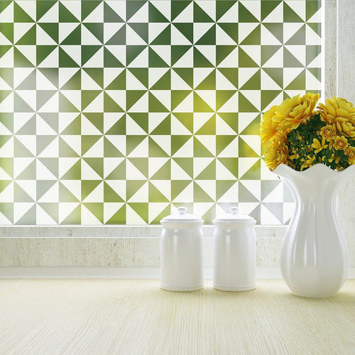 Pinwheel Privacy Window Film - StickPretty