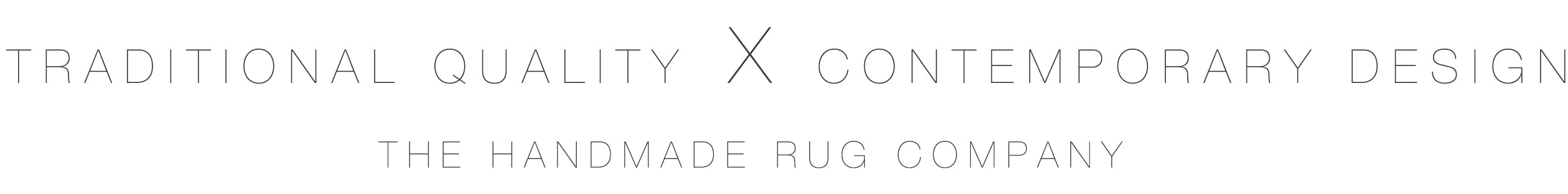 contemporary rugs by THE HANDMADE RUG COMPANY