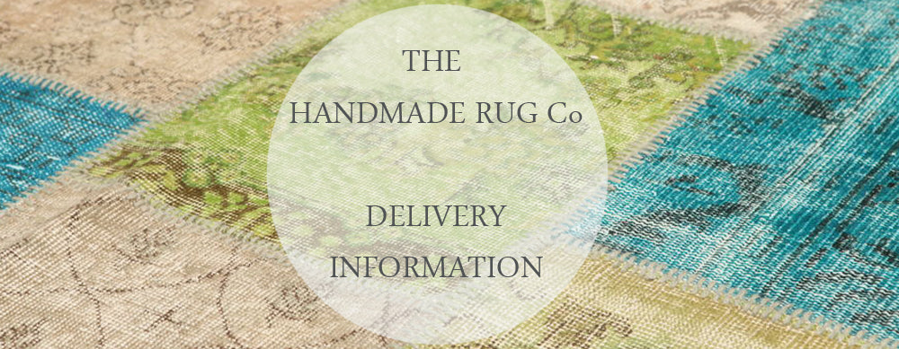 Handmade Rug Co. Delivery information