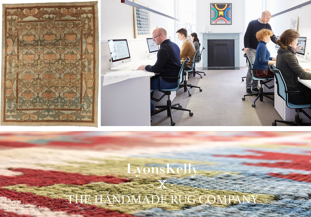 The Handmade Rug Company London X Interior Designers lyonsKelly