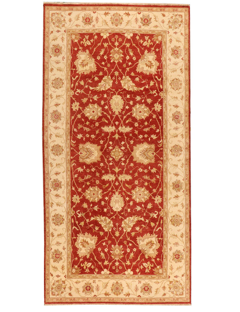 Long and Narrow Indian Agra Carpet - HANDMADE RUG COMPANY