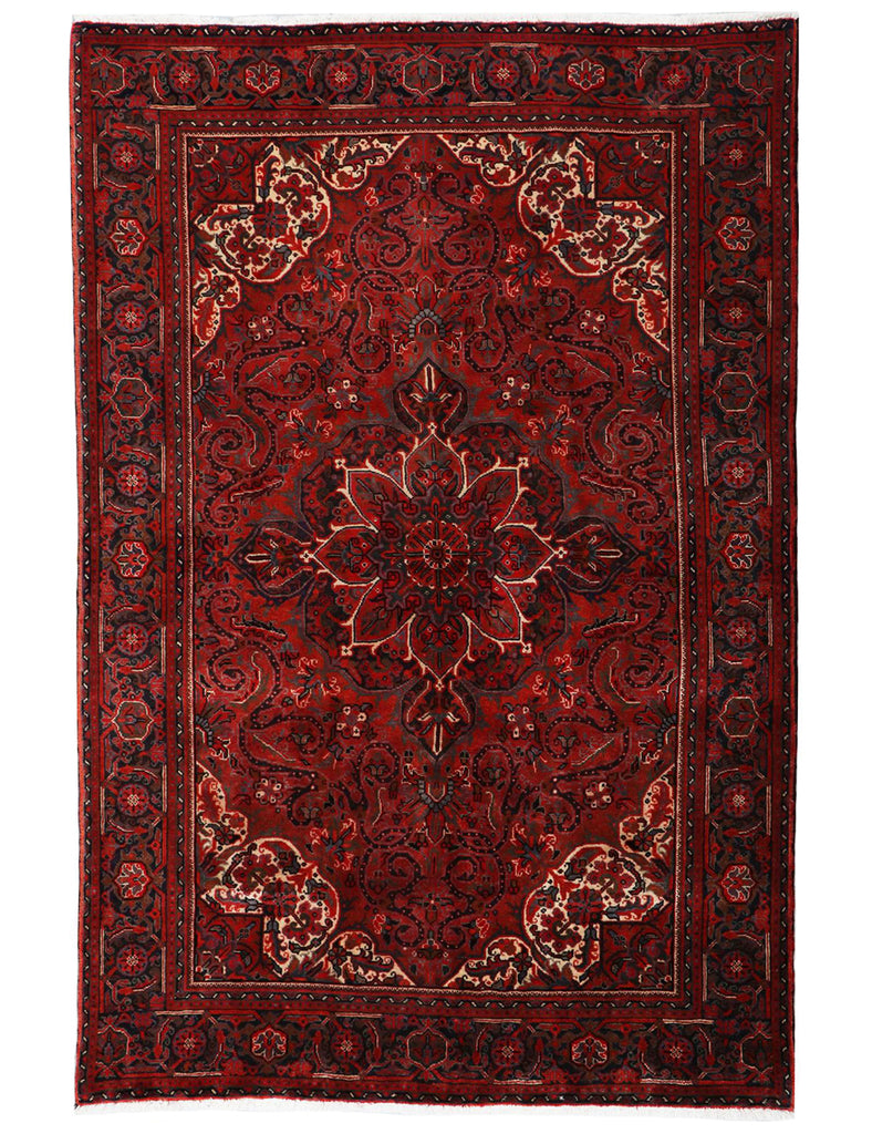 Old Heriz - 303cm x 202cm (10' x 6'8) - Antique and old Persian Rugs - HANDMADE RUG COMPANY
