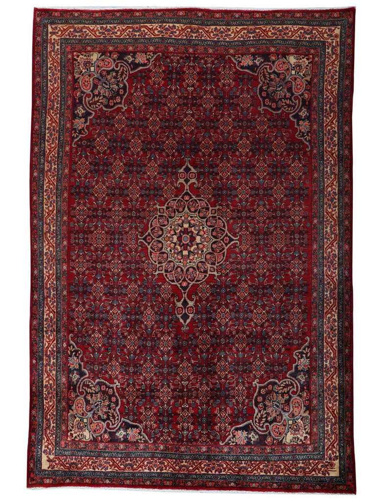 Fine Old Bidjar - 315cm x 210cm (9-7ft x 6-11ft) - Antique and old rugs - HANDMADE RUG COMPANY