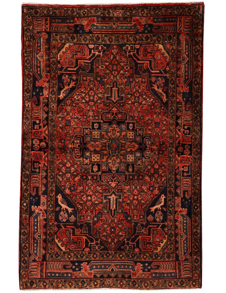 Old Kolyai - 160cm x 102cm (5'3 x 3'5) - Antique and old rugs - HANDMADE RUG COMPANY
