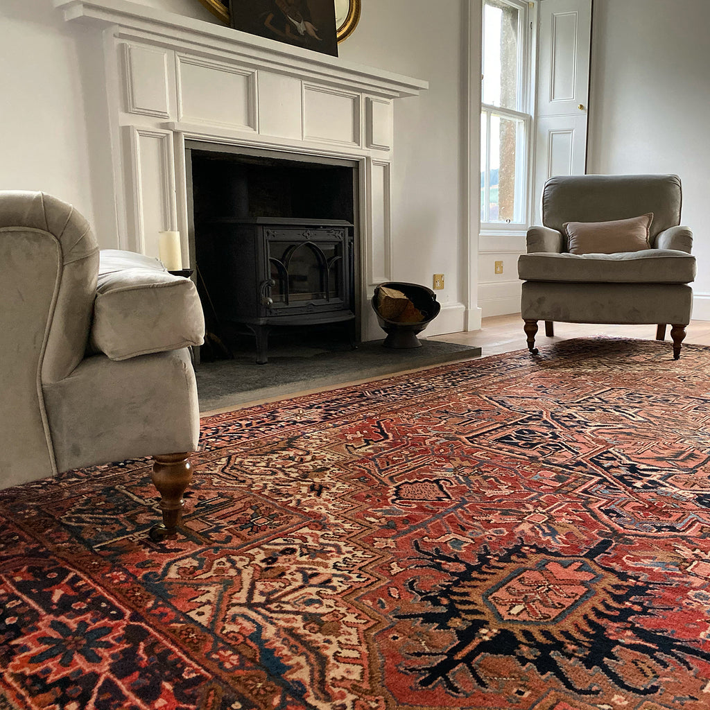 PERSIAN HERIZ FROM THE HANDMADE RUG COMPANY