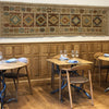 RECENT PROJECTS - ROOTS RESTAURANT - HANDMADE RUG COMPANY