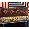 LARGE TRIBAL CUSHION - HANDMADE RUG COMPANY