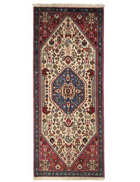 Fine Abadeh Runner - 198cm x 83cm (6-6ft x 2-9ft) Tribal Rugs - The Handmade Rug Company