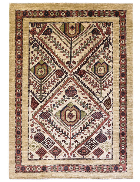 APPLE PIP  - 217cm x 153cm (7'1 x 5') - Serab Rug - Tribal and Traditional Rugs - HANDMADE RUG COMPANY