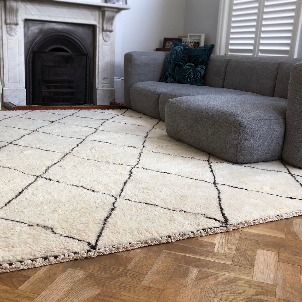 Moroccan Berber rug from THE HANDMADE RUG COMPANY