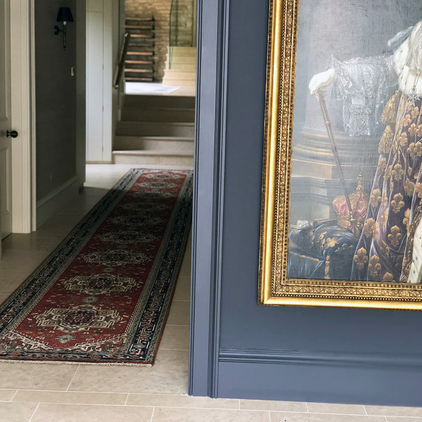 Bespoke hall runner by THE HANDMADE RUG COMPANY