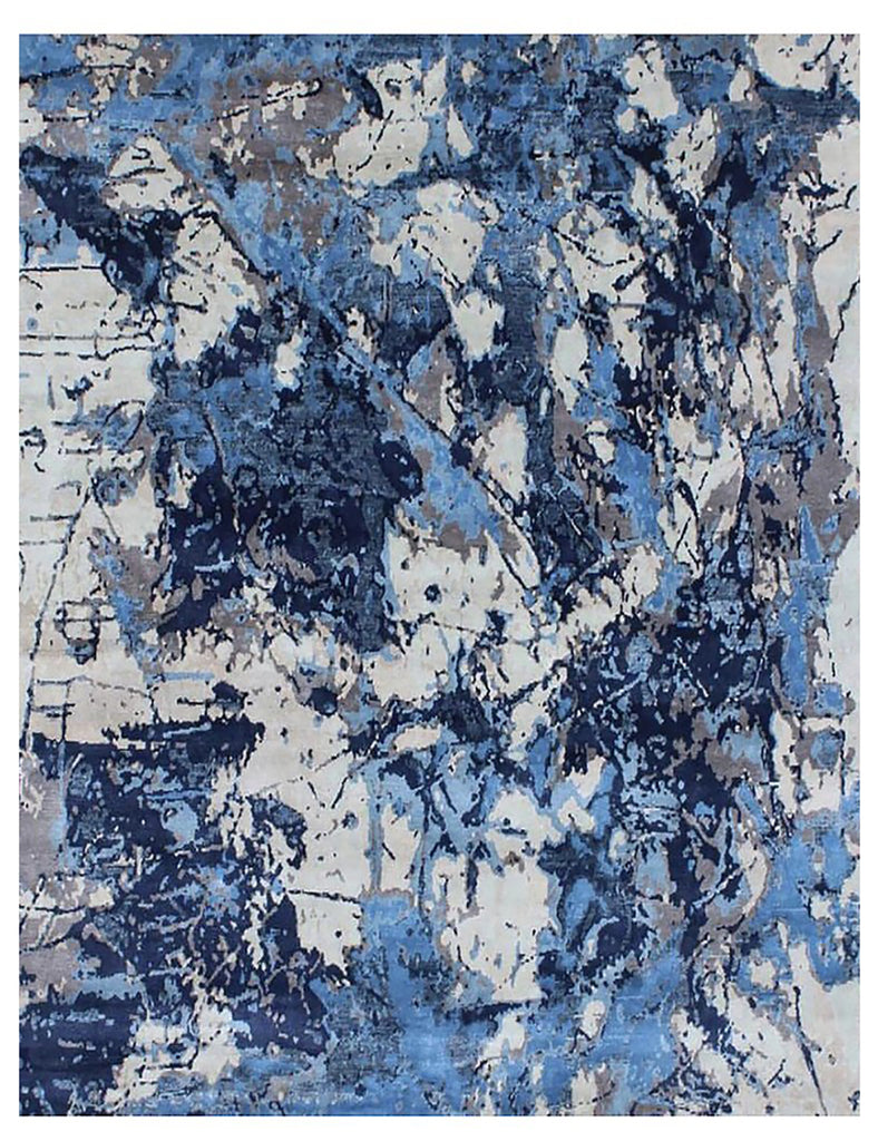 Bluesy rug by THE HANDMADE RUG COMPANY - CONTEMPORARY RUG COLLECTION