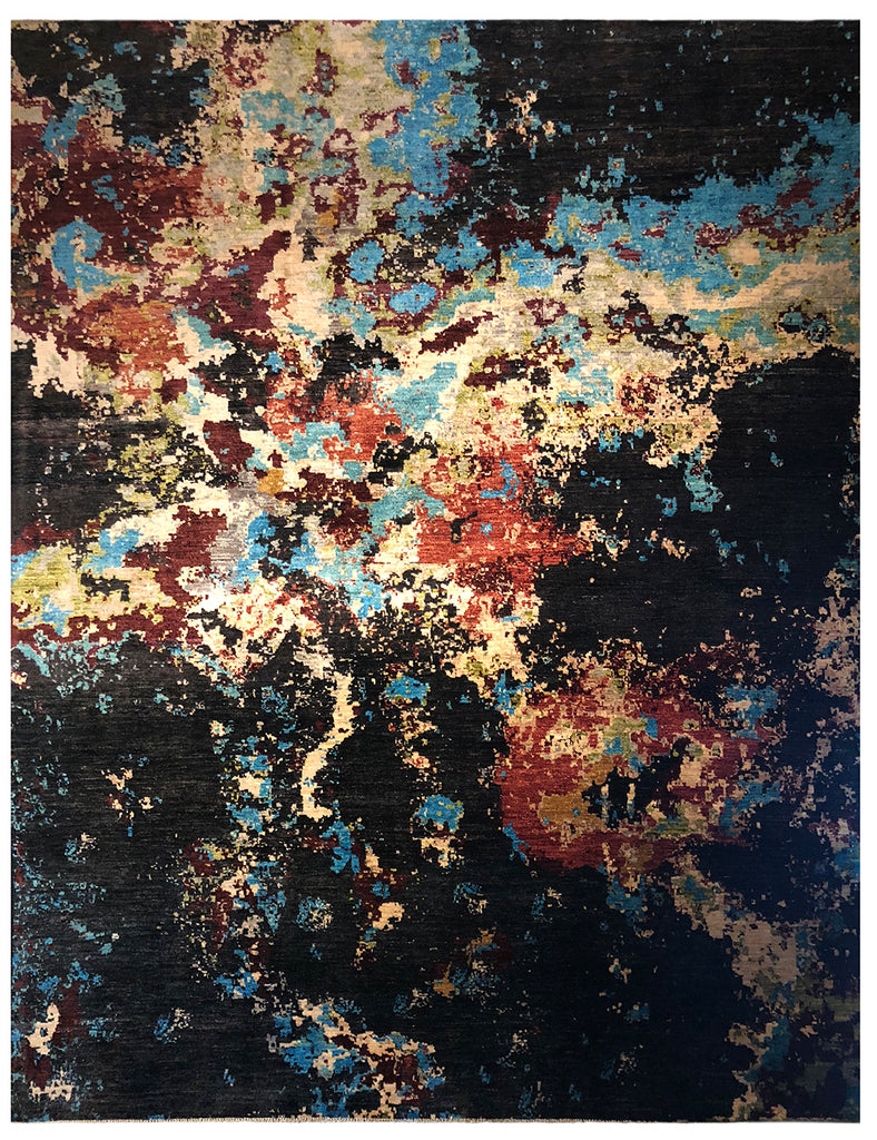 Cosmos - 305cm x 250cm (10ft x 8-3ft) HANDMADE CONTEMPORARY RUGS