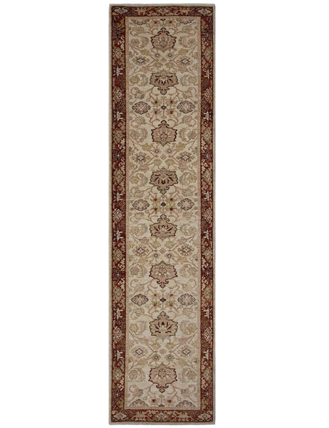 Farahan Hall Runner - 315cm x 75cm (10-3ft x 2-5ft) - Hall Runners - THE HANDMADE RUG COMPANY