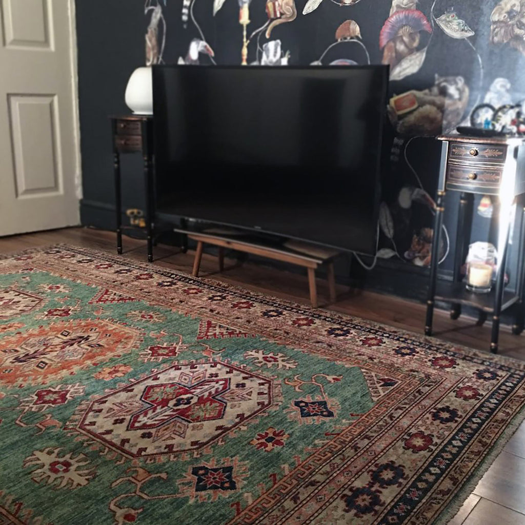handmade kazak rug from the handmade rug company