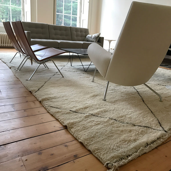 Large Berber carpet from The Handmade Rug Company