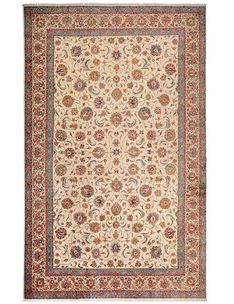 Persian Saruq - 597cm x 404cm (19-7ft x 13-3ft) - Large Persian Carpet - THE HANDMADE RUG COMPANY
