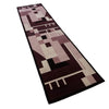 MODERNIST RUNNER BY MALLABON FOR THE HANDMADE RUG COMPANY - 300cm x 75cm (10' x 2'6) - HALL RUNNER COLLECTION