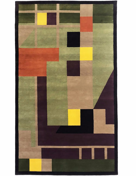 MODERNIST from our Custom Collection is exclusive to The Handmade Rug Company.