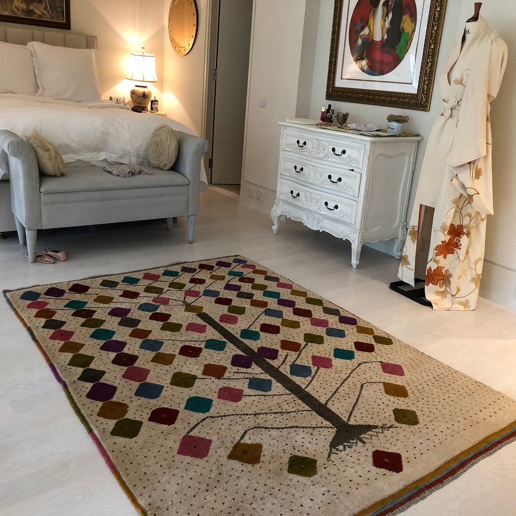 Handmade nomadic rug from The Handmade Rug Company