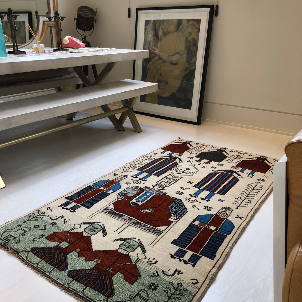 Handmade nomadic and tribal rugs from The Handmade Rug Company