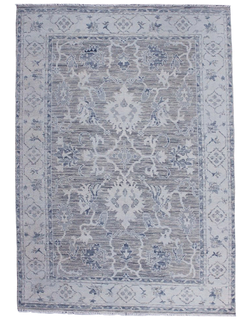 Oushak Restyled - 310cm x 246cm (10'2 x 8'1) - Traditional designs Contemporary Colours - HANDMADE RUG COMPANY