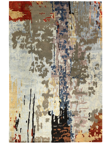 Roche Rouge contemporary rug from THE HANDMADE RUG COMPANY