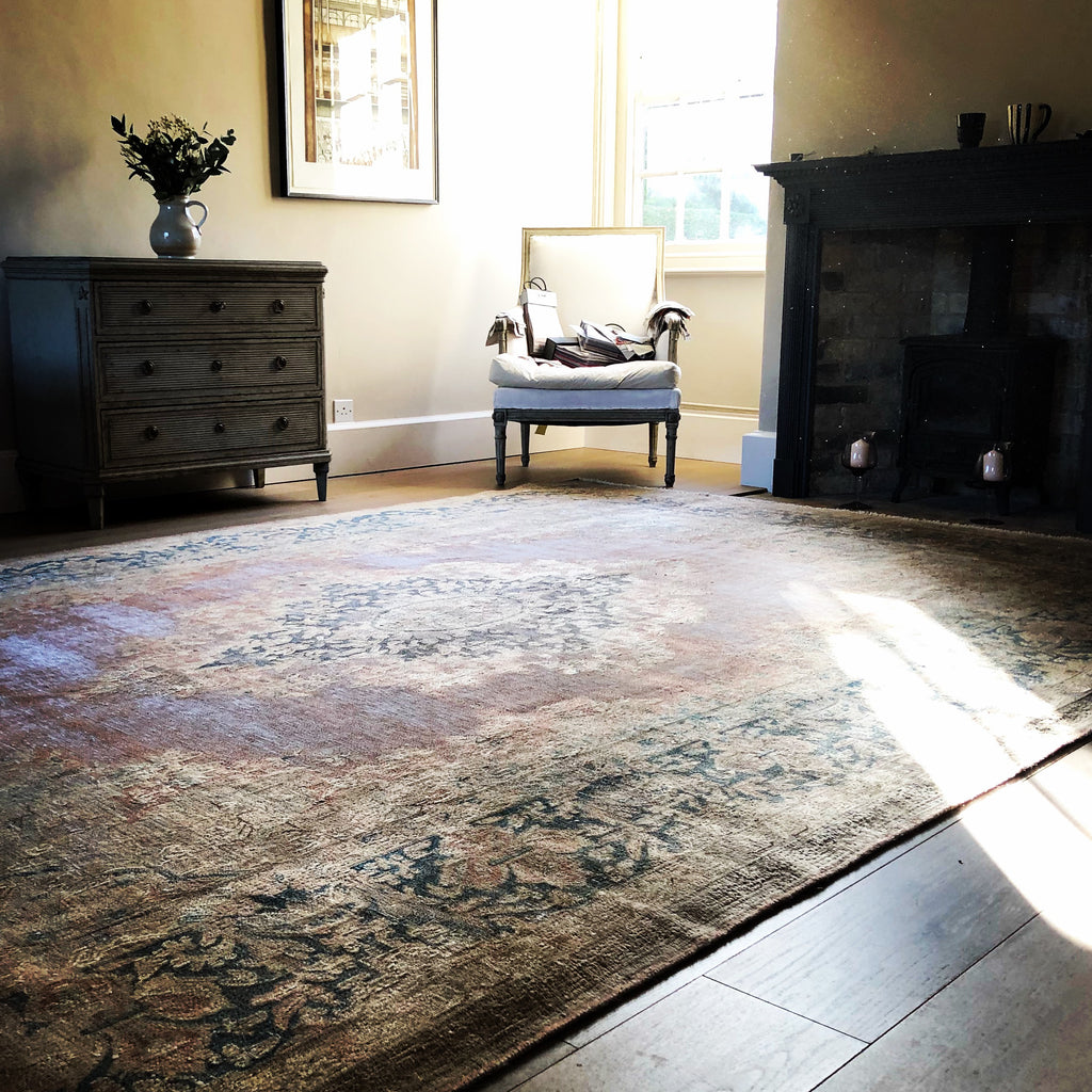 Antique Kirman Carpet from THE HANDMADE RUG COMPANY