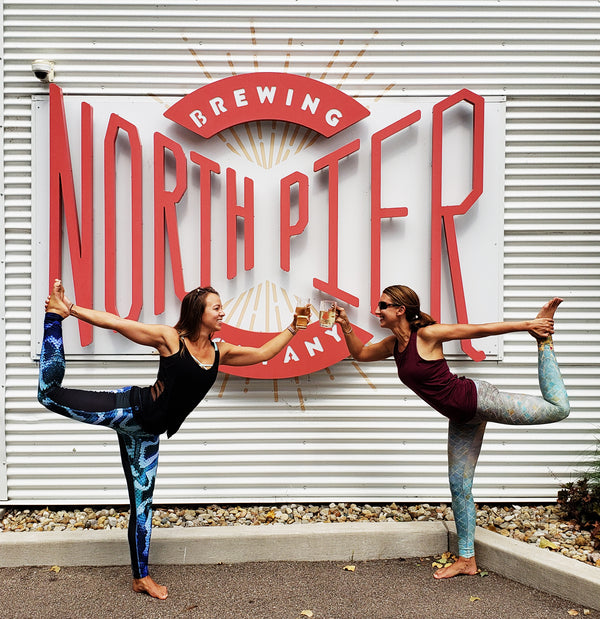 Beer, Brunch & Yoga... Not Necessarily in that Order