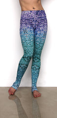 Mosaic Mermaid Leggings Front