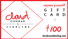 Cloud Conrad Sterling Gift Card $100