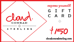 Cloud Conrad Sterling Gift Card $150