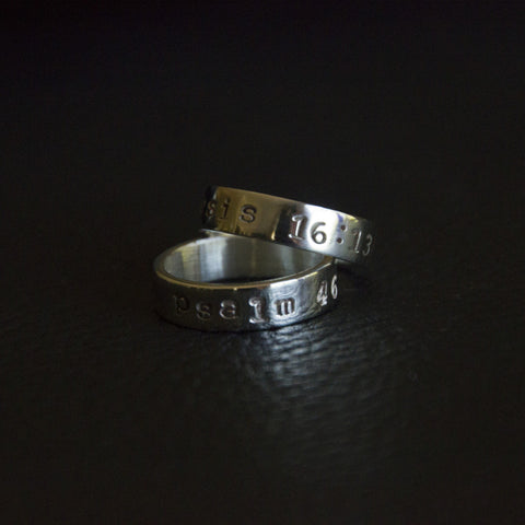 Inscripture Ring