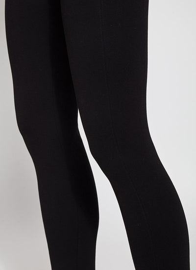Lysse Laura Black Ponte Knit Legging
