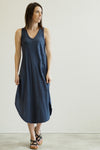 Z Supply Reverie Navy Maxi Dress