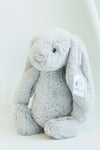 Jellycat Grey Bashlful Bunny Medium Stuffed Animal