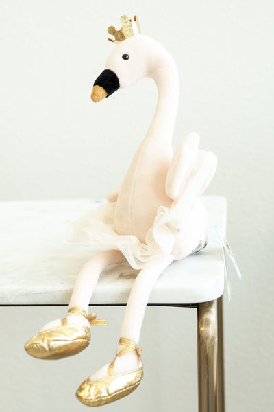 Jellycat Fancy Swan Stuffed Animal
