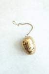 Gold Stainless Steel Tea Egg