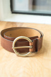 Brave Leather Vika Brandy Brown Belt